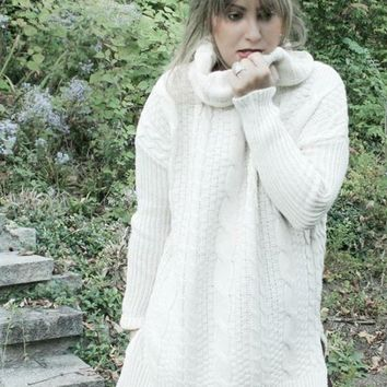 Kye Oversized Chunky Knit Sweater - FINAL SALE