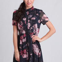 Rose In Bloom Floral Dress