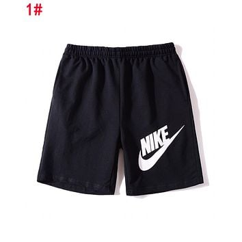 NIKE ADIDAS PUMA Women Men Print Sports Running Shorts 1#