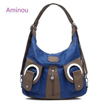 Luxury Handbag Ladies Hobos Bag Totes Fashion Soft leather Crossbody Shoulder Bags 2017 New Design Vintage Women Bucket Hobo Bag