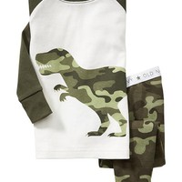 Old Navy Camo Dinosaur Sleep Sets For Baby