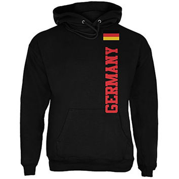 World Cup Germany Black Adult Hoodie