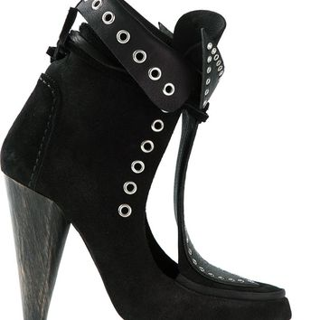 Isabel Marant Sculpted Ankle Boots