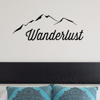 Wanderlust Wall Decal