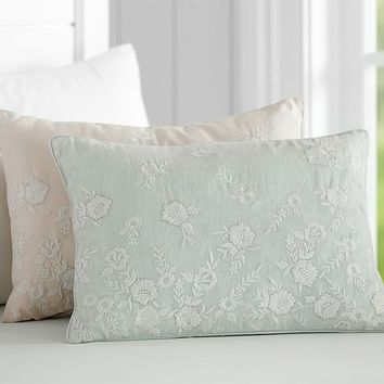 Monique Lhuillier Embroidered Decorative Pillows