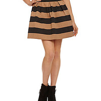 Freestyle Tiered Elastic Skater Skirt