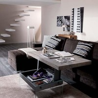 T061 Bellagio Transformable Coffee Table by Ozzio