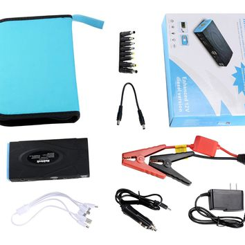 Nekteck Multifunction Car Jump Starter Portable Power Bank External Battery  Charger 60 d65dfc0b8