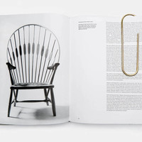 Carl Aubock — Large Paperclip Polished Brass — THE LINE