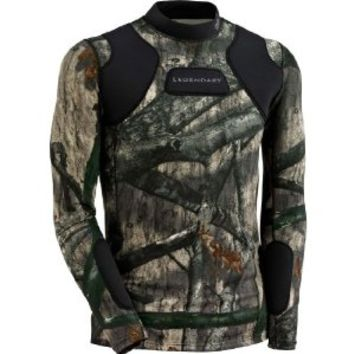 Legendary Whitetails Hunt Guard Mossy Oak Camo Padded Hunting Shirt Mossy Oak Treestand X-Large