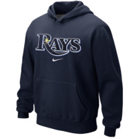 Tampa Bay Rays Nike Classic Pullover Hoodie – Navy Blue
