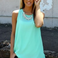 Sun Daze Top In Mint