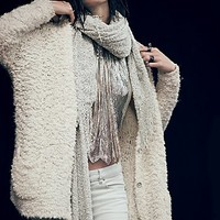 Free People Womens Marshmallow Cardigan