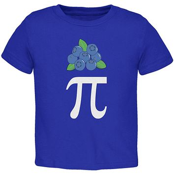 Halloween Math Pi Costume Blueberry Day Toddler T Shirt