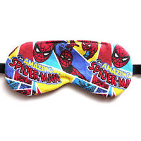 Sleep Mask Spiderman Night Eye Shade Kid Superhero Boy Blindfold Marvel Comics