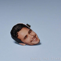 James Franco Thick Band Face Ring