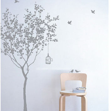 Vinyl wall decals wall sticker DecalArtTree by walldecals001
