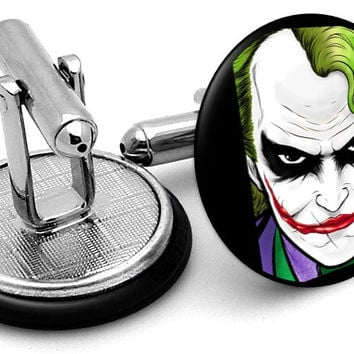 The Joker Portrait Cufflinks