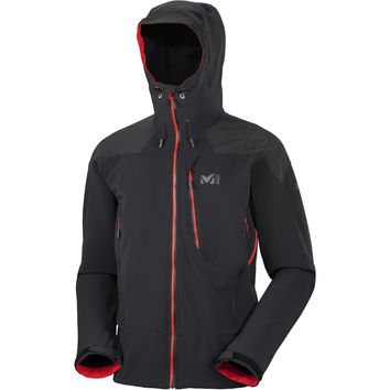 Millet Roc Plus Ice WDS Hooded Sofshell Jacket - Men's