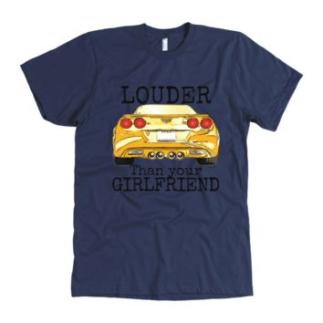 Corvette C6 Louder than your girlfriend T-shirt