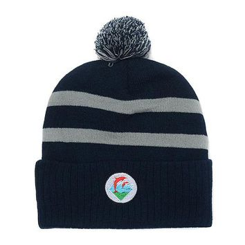 auguau Pink Dolphin Beanie Hats