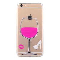 PINK WINE PHONE CASE