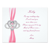 Pink Infinity Heart Wedding Collection