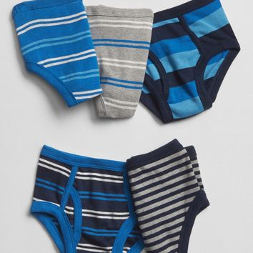 Stripe Briefs (5-Pack)|gap