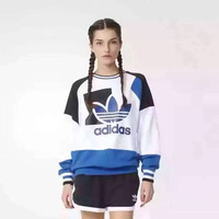 """Adidas"" Fashion Print Long Sleeve Women Casual Sweatshirt Tops"