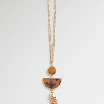 Be The Exception Necklace - Tortoise