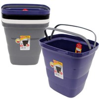 Glad Metro Trash Can with Bag Ring - 14L