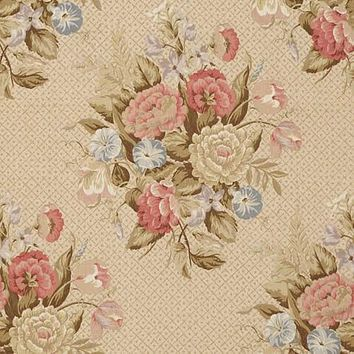 Vervain Fabric 0517802 English Bouquet Antique