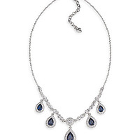 Carolee Simply Blue Frontal Necklace