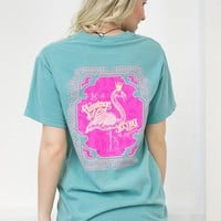 Be A Flamingo Graphic Tee