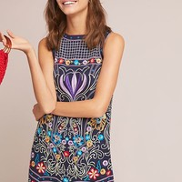 Kira Embroidered Tunic Dress