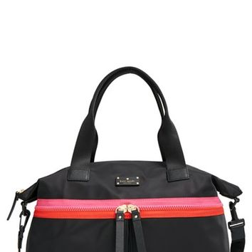 kate spade new york 'clark court - courtlyn' nylon tote
