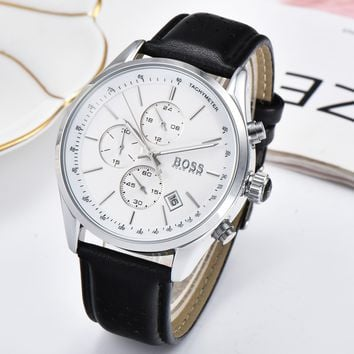 Hugo Boss Men Fashion Quartz Watches Wrist Watch