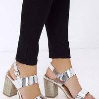 Rocket Powered Silver Heels
