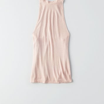 AEO Soft & Sexy Hi-Neck Top , Pink