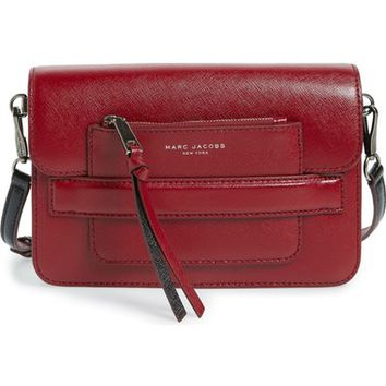 MARC JACOBS Madison Colorblock Leather Crossbody Bag | Nordstrom