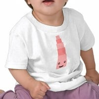 """Pink tower"" Monterssori T-shirt from Zazzle.com"
