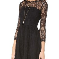 Juicy Couture Delicate Lace Dress | SHOPBOP