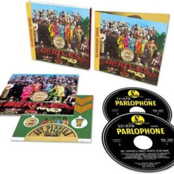 Sgt. Pepper's Lonely Hearts Club Band - The Beatles, CD Deluxe