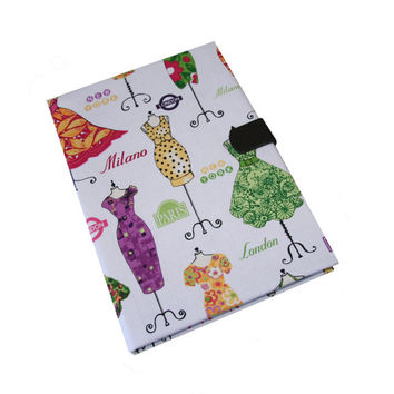iPad Case Air 2 3 4 Mini Fashion Dresses iPad Cover, iPad Sleeve, i Pad stand up Leather closure