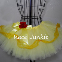 Belle Beauty and the Beast Princess Running Tutu 9 by RaceJunkie
