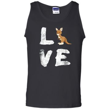 I Love Kangaroo Australia Pride Animal  Gift Tee Tank Top