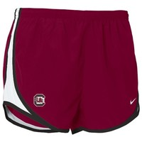 Nike South Carolina Gamecocks Garnet Ladies Tempo Shorts