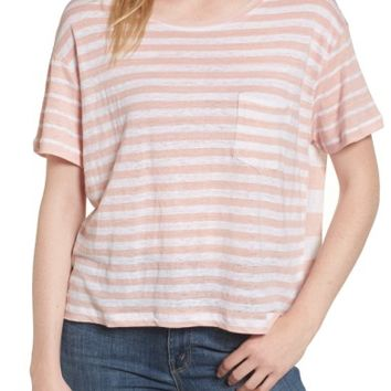 Rails Billie Stripe Pocket Tee | Nordstrom