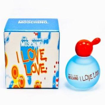 I Love Love By #Moschino For Women. Miniature Eau De Toilette 5 Ml. : Cheap And Chic Moschino Perfume : Gateway