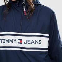 tommy hilfiger fashion hooded zipper cardigan sweatshirt jacket coat windbreaker sportswear-5